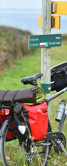 First-time cycle touring
