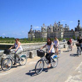 Velo Bike Chambord © Ludovic Letot
