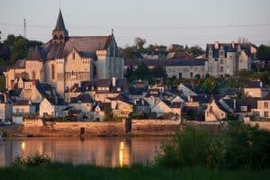 Visit of Candes-Saint-Martin
