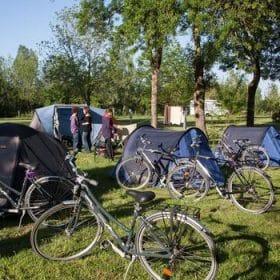 Vélos au camping