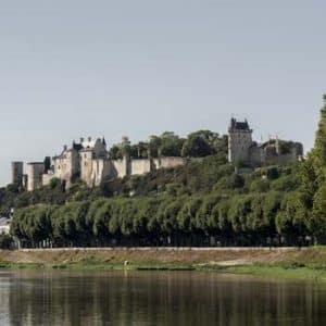 La forteresse royale de Chinon et la Vienne